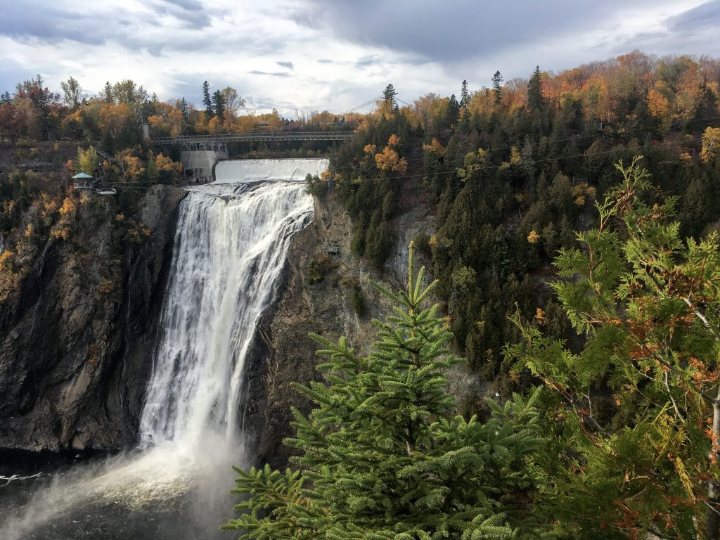 language matters in the enneagrambut fails to describe this waterfall in quebec canada