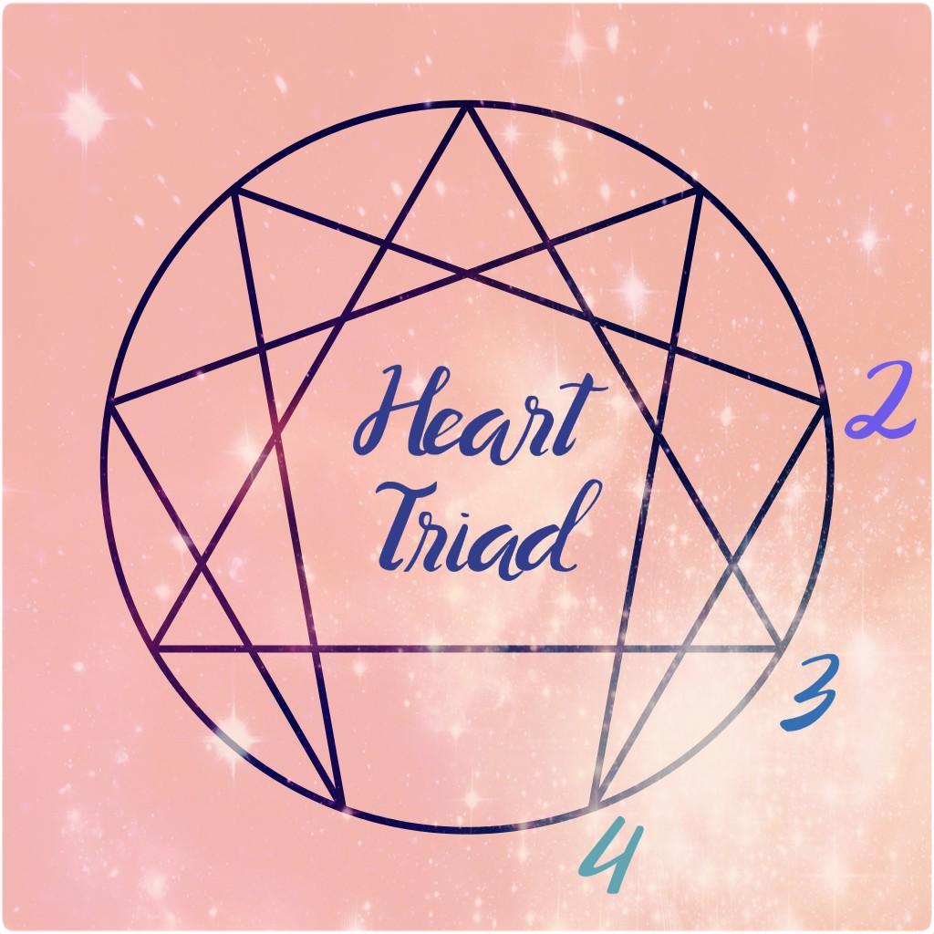 heart triad enneagram symbol